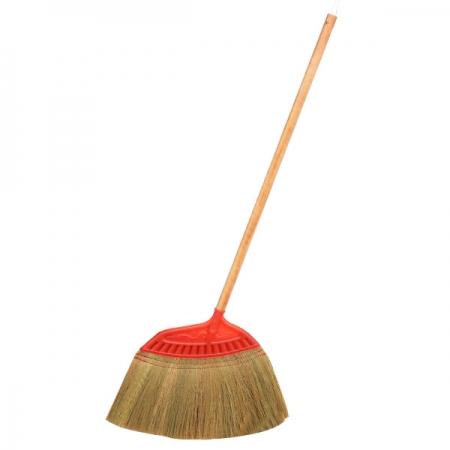 원목손잡이 갈대비 1P 빗자루 방비 마당비 청소용품